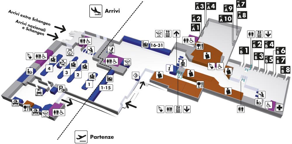 fco airport map with Mappe1 on Puyo likewise File Stazione Fiumicino partenze in addition Passeggeri Fiumicino  e Raggiungerci Viabilita additionally Stockholm Airport Terminal 2 Map additionally Aeroporto di fiumicino Uomo vitruviano.
